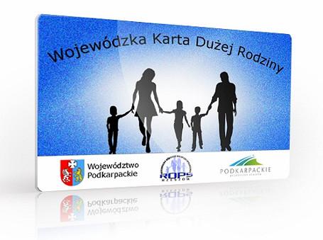Wojewódzka Karta Dużej Rodziny - zdjęcie w treści