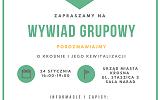 Zaproszenie na wywiad grupowy dotyczący opracowania Programu Rewitalizacji Miasta Krosna