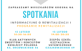 Zaproszenie na spotkania w wybranych obszarach rewitalizacji w ramach konsultacji społecznych Programu Rewitalizacji Miasta Kros