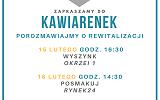 Zaproszenie do kawiarenek w ramach konsultacji społecznych Programu Rewitalizacji Miasta Krosna na lata 2016-2023