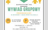 Zaproszenie na wywiad w ramach konsultacji społecznych Programu Rewitalizacji Miasta Krosna na lata 2016-2020