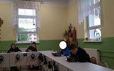 uczestnicy  zajęc z  chemii