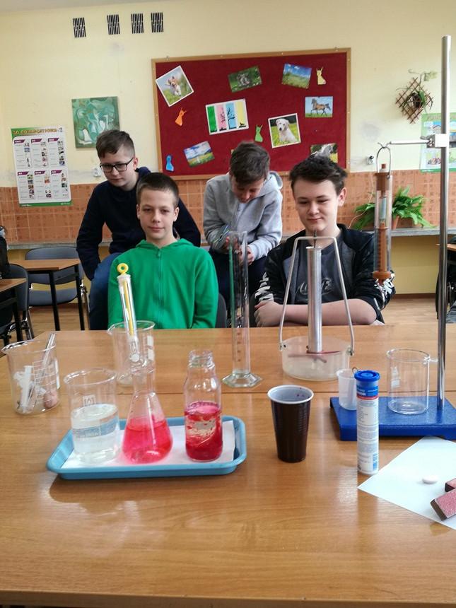 II grupy uczniów uczestniczyły w
