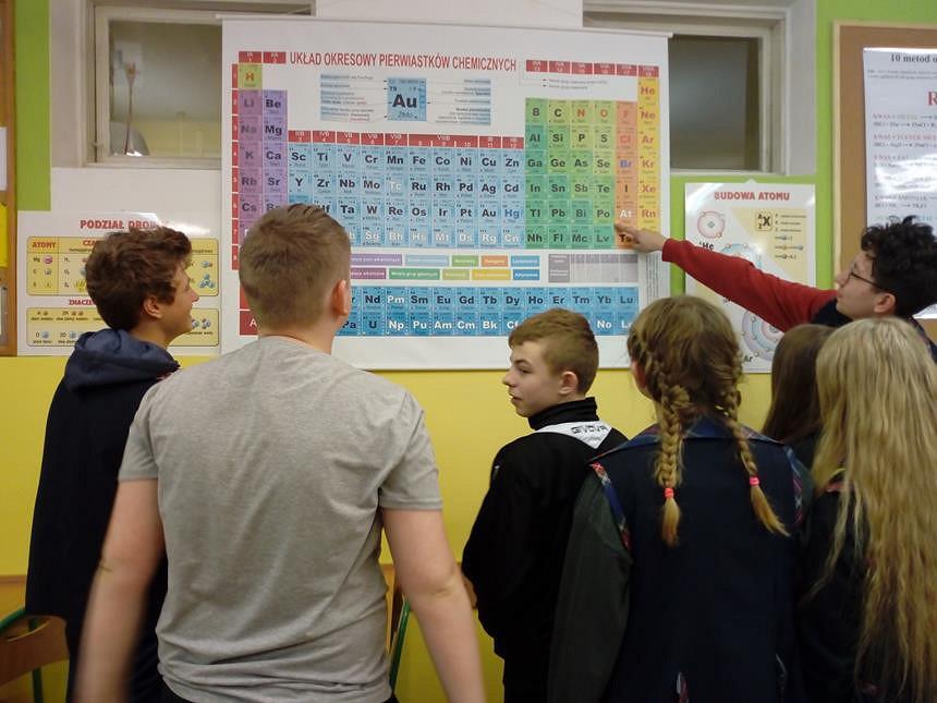 Zajecia dydaktyczno - wyrównawcze z chemii - zdjęcie w treści  nr 2