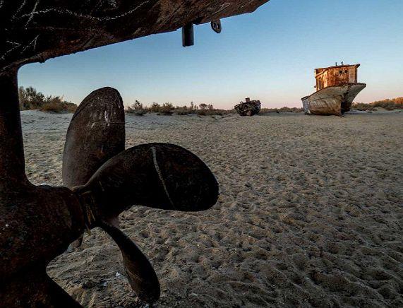 Kropla w morzu. Podróż nad Morze Aralskie w poszukiwaniu wody - prelekcja Kamili Kielar
