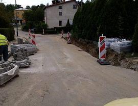 Przebudowa ulic Prochownia, św. Wojciecha, Spacerowa w Krośnie